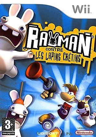 rayman contre lapin cretins