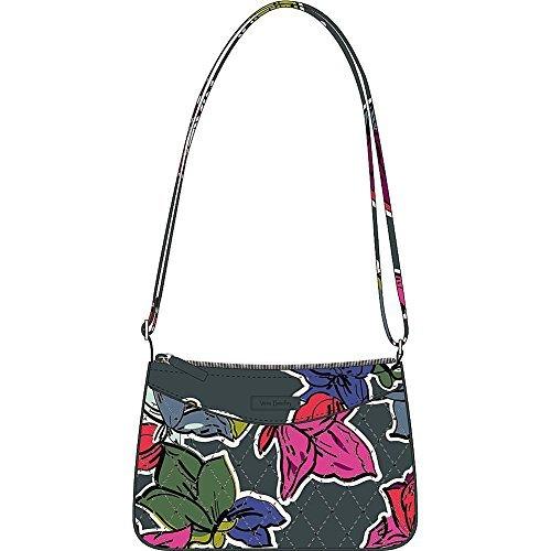 Vera Bradley Women's Little Crossbody Falling Flowers Crossbody Bag