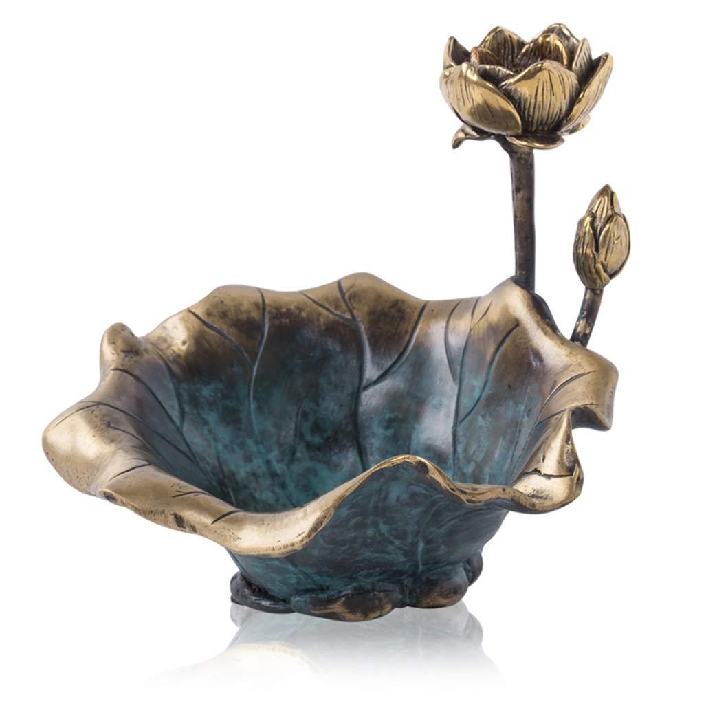 DYHOZZ 灰皿の新しい中国の純粋な銅の灰皿クリエイティブホーム多機能ジュエリー(サイズ; 12×11×11cm) 灰皿   B07RXPFZCJ