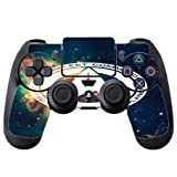 Star Command PS4 DualShock4 Controller Vinyl Decal Sticker Skin by Demon Decal