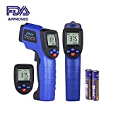 Albott Non-contact Digital Laser IR Infrared Thermometer Temperature Gun -58~788℉(-50 ~...
