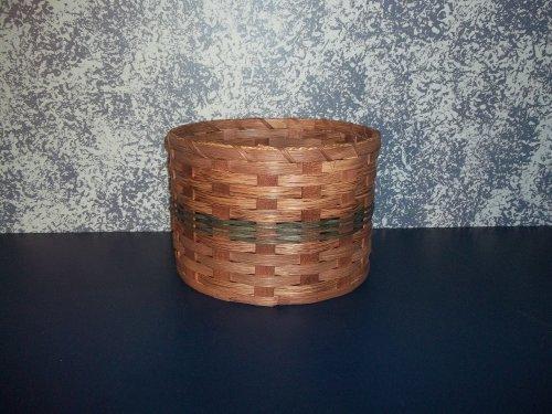 Amish Handmade Primitive Paper Plate Carrier Holder Basket. Measures 10