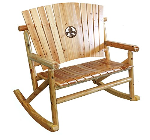 Leigh Country TX 95112 Aspen Fleur-De-Lis Double (Outdoor Double Rocker)