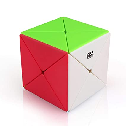 Alician 3 X 3 Kids Magic Cube Puzzle Toy for Kindergarten Color