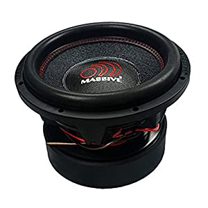 Massive Audio HippoXL122R - 12 Inch Car Audio 6,000 Watt HippoXL Series Competition Subwoofer, Dual 2 Ohm, 4 Inch V.C
