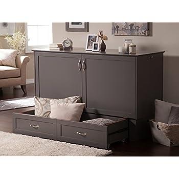 Atlantic Furniture AC604149 Madison Murphy Bed Chest, Queen, Atlantic Grey