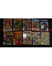 10 Mixed Comic Books from DC & Marvel Comics (LOT A)