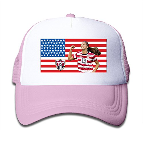 Price comparison product image Kid's Boys And Girls Cool Alex Morgan Baseball Caps Pink