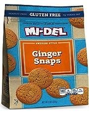 MI-DEL Ginger Snap Gluten Free Cookie 227g