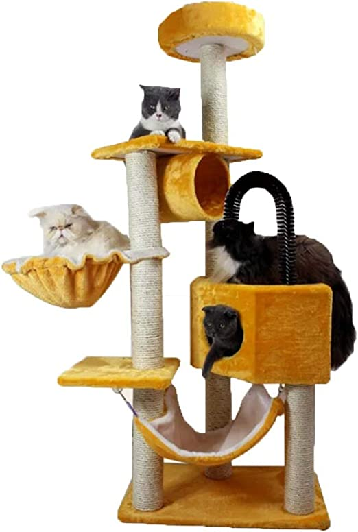 JIY-Árboles para gatos Gato Escalada Pared Estante Gato casa Gato ...