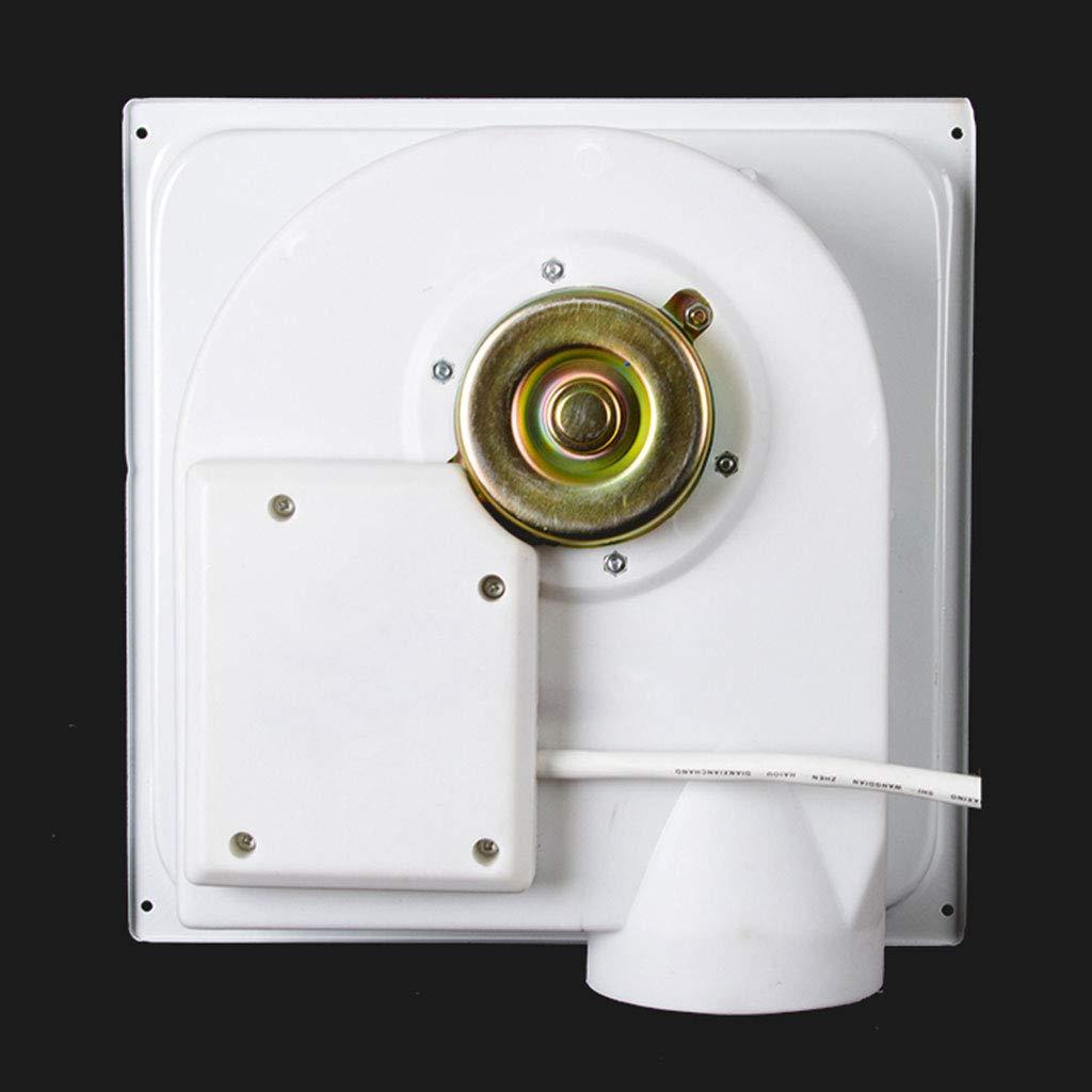 GXFC Ba/ño 3 en 1 Ventilador Pantalla Digital de Temperatura con Interruptor Techo Extractor de Aire Luz Plaf/ón Led y Calentador Combo Calentar una Unidad de ventilaci/ón