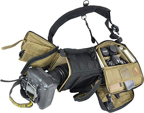 HAZARD 4 Evac Photo-Recon(Tm) Photo Sling Pack W/Molle - Black
