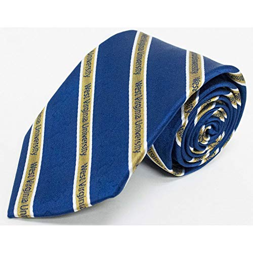 Donegal Bay NCAA West Virginia Mountaineers Adult Prep Necktie, One Size, Gold ()