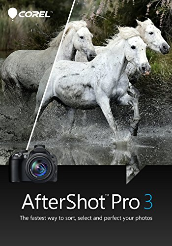 Corel AfterShot Pro 3 Photo Editing Software for PC/Mac (Key Card)