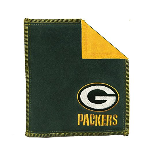 NFL Green Bay Packers Bowling Ball Shammy Pad 8'' X 7.5'' by Strikeforce Bowling