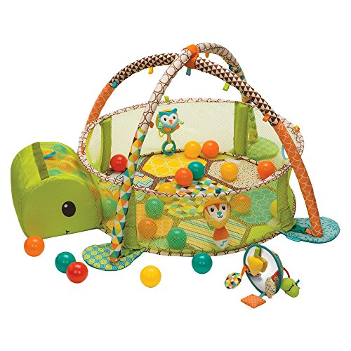 Infantino Go GaGa Activity Gym & Shape Sorting Ball Pit
