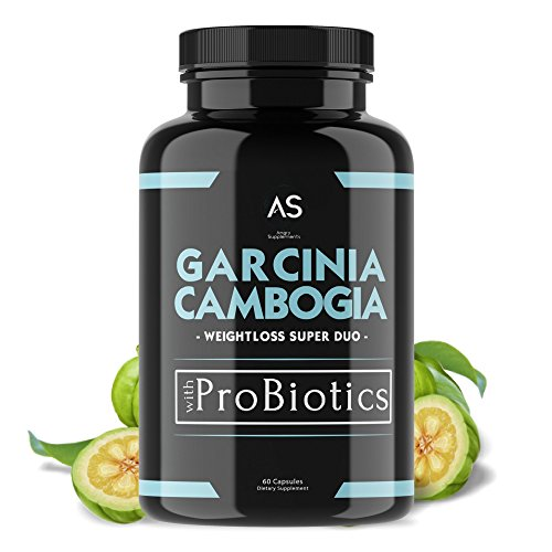 Angry Supplements Garcinia Cambogia Pills w. Probiotics and