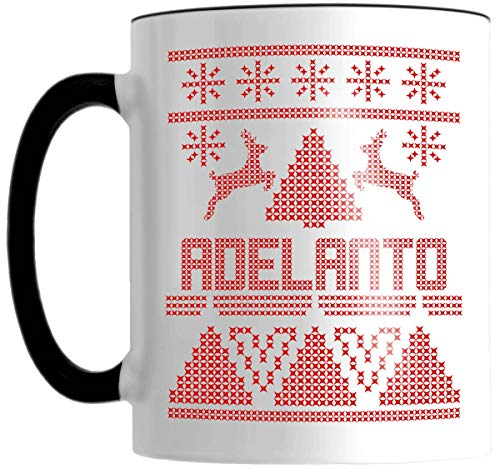 ADELANTO Ugly Sweater Graphic 11 OZ Mug