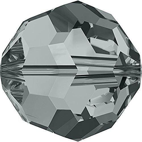 5000 Swarovski Crystal Beads Round Black Diamond | 6mm - Pack of 20 | Small & Wholesale Packs