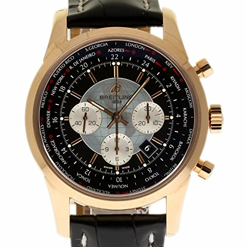 Breitling Transocean Swiss-Automatic Male Watch RB0510 (Certified Pre-Owned)