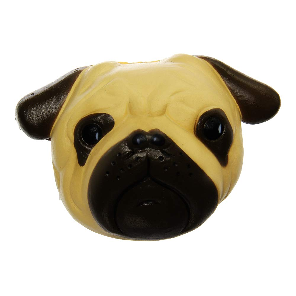 Dog Bread PU Slow Rising Kawaii Simulation Toy Stress Relief Toys Squeeze Toys Hand Toy for Elderly Adults Kids WSTJY Squishy Toy