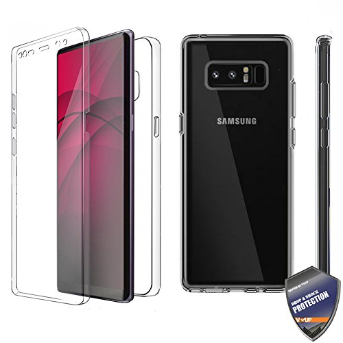 [VVUP] Clear Slim Full-body Rugged Case Protection with Built-in Screen Protector for Samsung Galaxy S8 Plus
