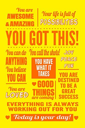 You Got This: Sunshine Yellow Journal Notebook ()