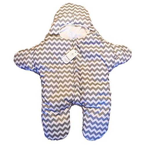 dc8cf6e6a Warm Winter WarmWinter Newborn Cotton Infant Baby Bunting Starfish ...
