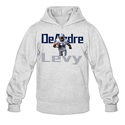 Show Time Men's DeAndre Levy Classic Hooded Ash L