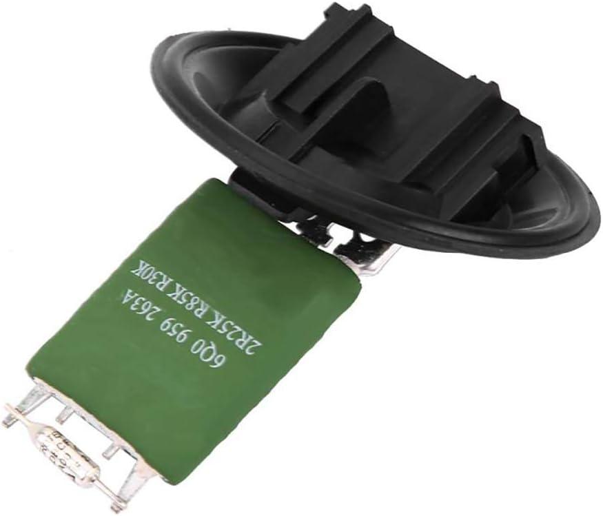 Sostituzione del resistore della ventola del motore del ventilatore del riscaldatore per A2 A1 Polo Fox Fabia Roomster 6Q0959263 6Q0959263A
