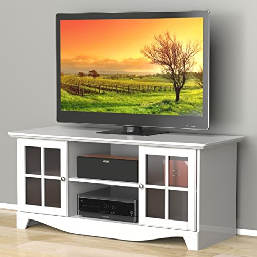 Pinnacle 56-inch TV Stand 101203 from Nexera - White - Modular 3 Shelf Tv Stand