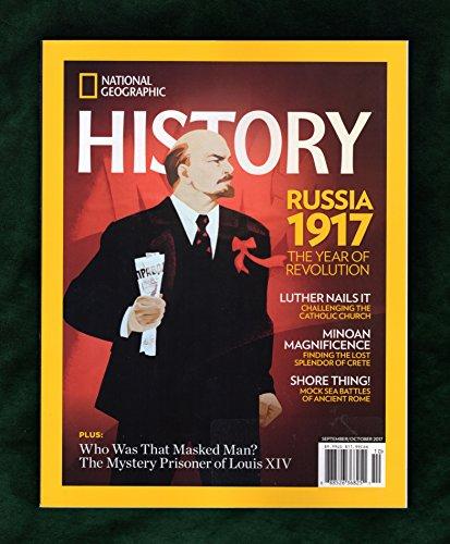 National Geographic History - September - October, 2017. Russia 1917 (Revolution); Martin Luther (Reformation); Minoan Magnificence; Roman Sea Battles; Semiramis; Egyptian Obelisks; Saigo -