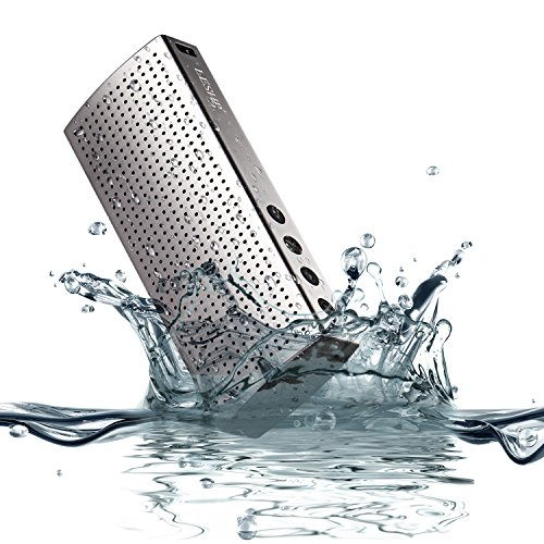 LESHP Waterproof Bluetooth Resistant Aluminum