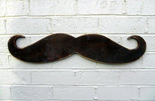 Amazon.com: Large Cut Out MUSTACHE Wood Wall Art: Handmade