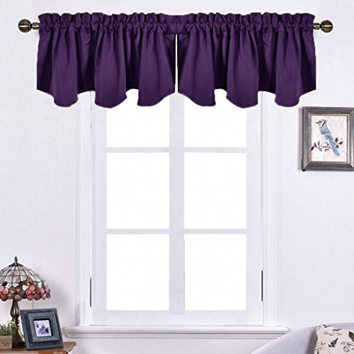 Nicetown Kitchen Blackout Window Valance product image