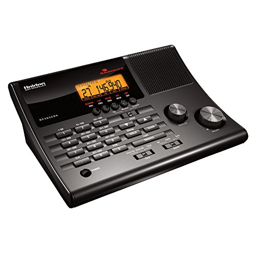 Uniden BC365CRS 500 Channel Scanner and Alarm