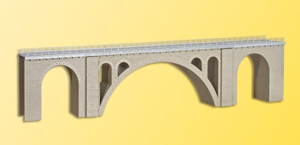 Kibri 39720 - Modellismo ferroviario, Viadotto ferroviario di Hölltobel, a 1 binario, scala H0