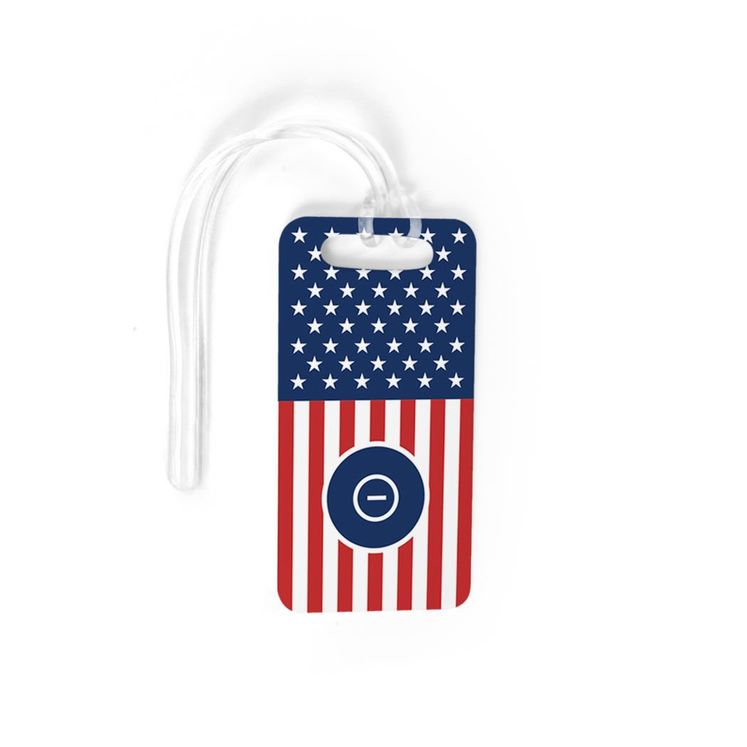 Wrestling Luggage & Bag Tag | USA Wrestling | No Personalization on Back | SMALL
