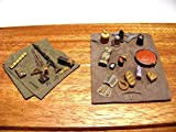 1 35 diorama set - Reality In Scale 1:35 German Equipment Set 2pc - Resin Diorama Accessory #35154