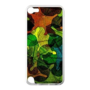 Best Custom Case-Colorful Stained Glass Leaves Pattern Design,Stained Glass For HTC One M7 Case Cover Hard shell Case, Cell Phone Cover