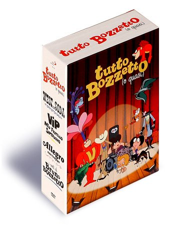 Tutto Bozzetto 4-DVD Box Set ( West and soda / Allegro non troppo / Vip, mio fratello superuomo ) ( West and soda / Allegro non troppo / VIP: My Brother S [ NON-USA FORMAT, PAL, Reg.0 Import - Italy ]