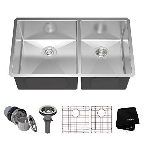 Top recommendation for kitchen sinks stainless steel undermount 60/40