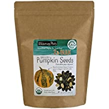Wilderness Poets Oregon Pumpkin Seeds - Organic, Heirloom, Raw - Bulk Pumpkin Seeds, 2 Pound (32 Ounce)
