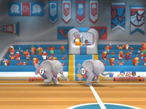 The Elephant Trunk-A-Dunk!