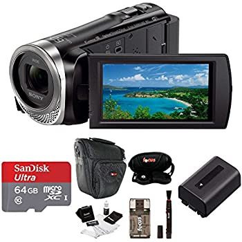 Sony Hdr Cx440 Full Hd 60p Camcorder Deluxe Bundle Amazon