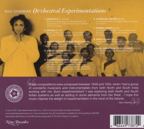 Nine Decades Vol.3 - Orchestral Experimentations by East Meets West