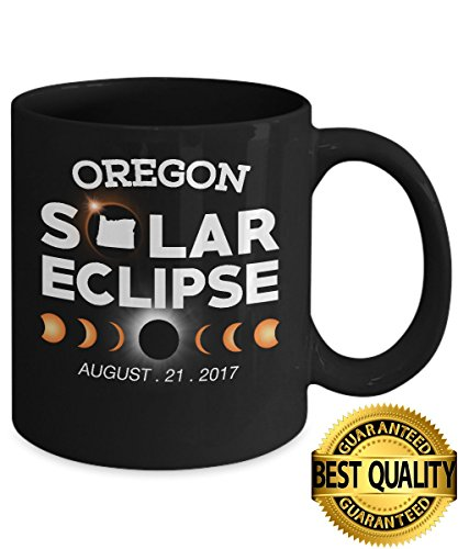 Best Quality  Circle Total Solar Eclipse Oregon Mug  August 21 2017  11 Ounces Sized  By Stormcool