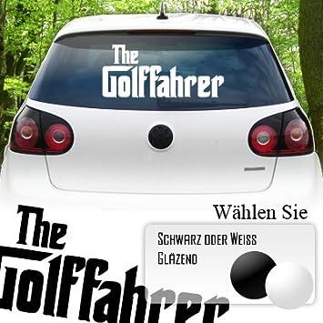 The Golffahrer Heckscheiben Aufkleber Jayess Auto