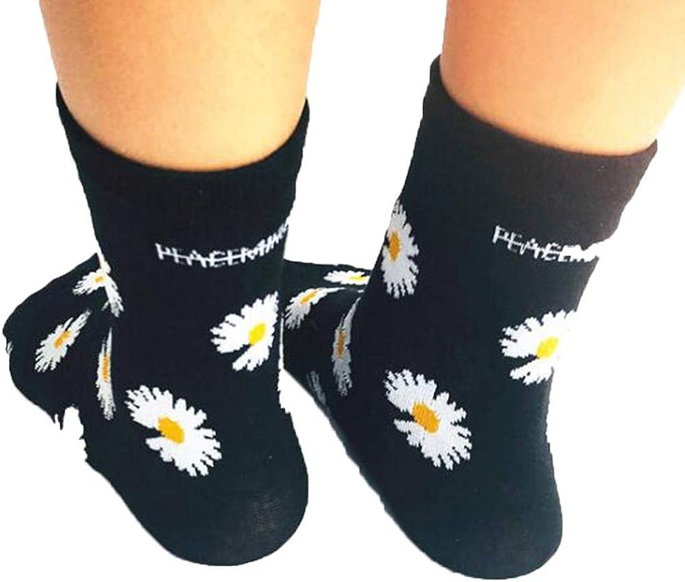 KPOP Cotton Mini Daisy Embroidery G-Dragon Stockings Spring Autumn Peacemiunsone Shoes Socks