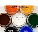 7 Colors 10g Jars Matte Cosmetic Pigment Powder Orange Yellow Green White Brown Black Blue 10 Gram Mp Cp Hp DIY Colorants 70g